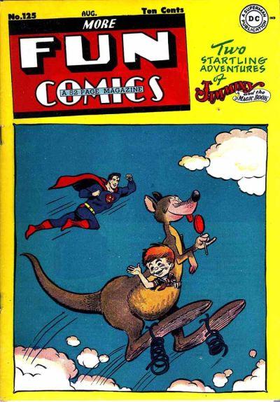 Cover for More Fun Comics (DC, 1936 series) #125