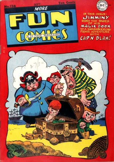 Cover for More Fun Comics (DC, 1936 series) #126