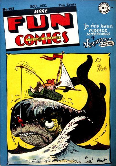 Cover for More Fun Comics (DC, 1936 series) #127