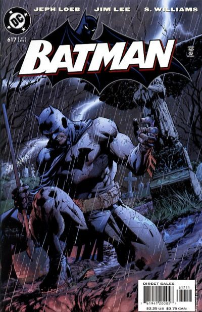 Cover for Batman (DC, 1940 series) #617
