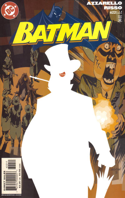 Cover for Batman (DC, 1940 series) #622 [Direct Edition]
