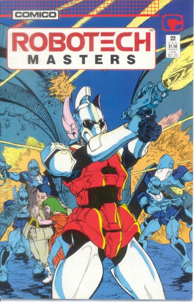 Cover for Robotech Masters (Comico, 1985 series) #22