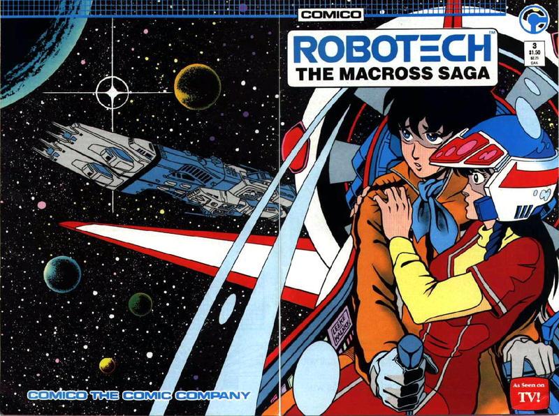 Cover for Robotech: The Macross Saga (Comico, 1985 series) #3