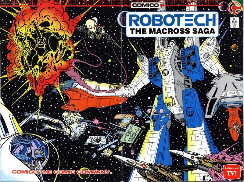 Cover for Robotech: The Macross Saga (Comico, 1985 series) #5