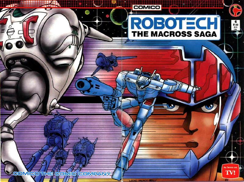 Cover for Robotech: The Macross Saga (Comico, 1985 series) #6