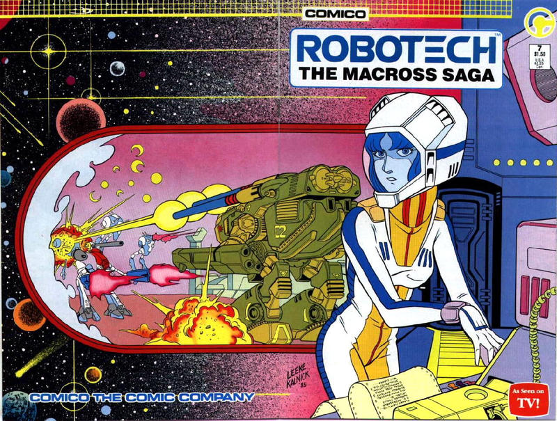Cover for Robotech: The Macross Saga (Comico, 1985 series) #7