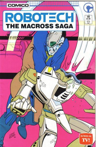 Cover for Robotech: The Macross Saga (Comico, 1985 series) #10