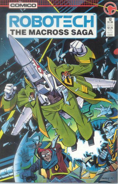 Cover for Robotech: The Macross Saga (Comico, 1985 series) #12