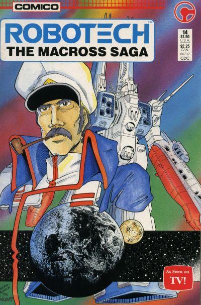 Cover for Robotech: The Macross Saga (Comico, 1985 series) #14