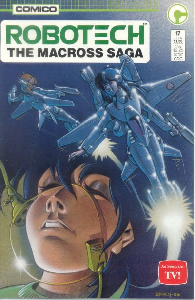 Cover for Robotech: The Macross Saga (Comico, 1985 series) #17
