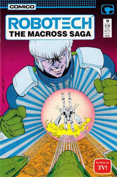 Cover for Robotech: The Macross Saga (Comico, 1985 series) #19
