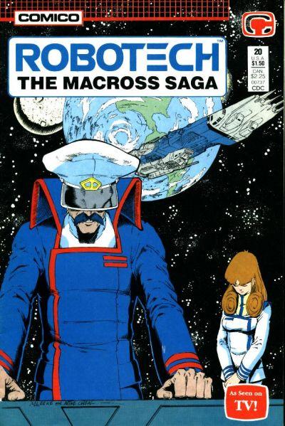 Cover for Robotech: The Macross Saga (Comico, 1985 series) #20