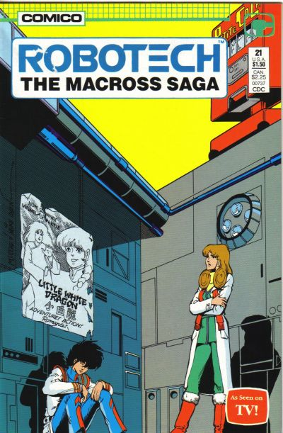Cover for Robotech: The Macross Saga (Comico, 1985 series) #21
