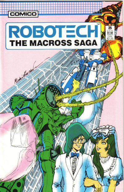 Cover for Robotech: The Macross Saga (Comico, 1985 series) #25