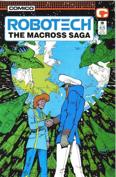 Cover for Robotech: The Macross Saga (Comico, 1985 series) #26