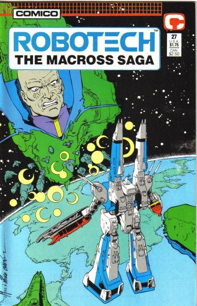 Cover for Robotech: The Macross Saga (Comico, 1985 series) #27