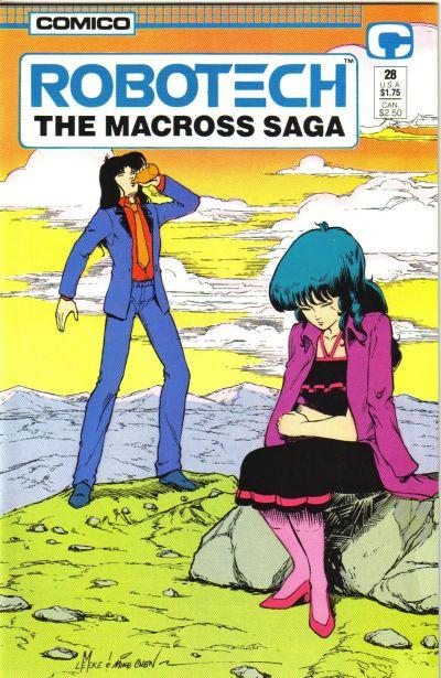 Cover for Robotech: The Macross Saga (Comico, 1985 series) #28
