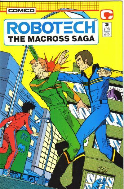 Cover for Robotech: The Macross Saga (Comico, 1985 series) #29