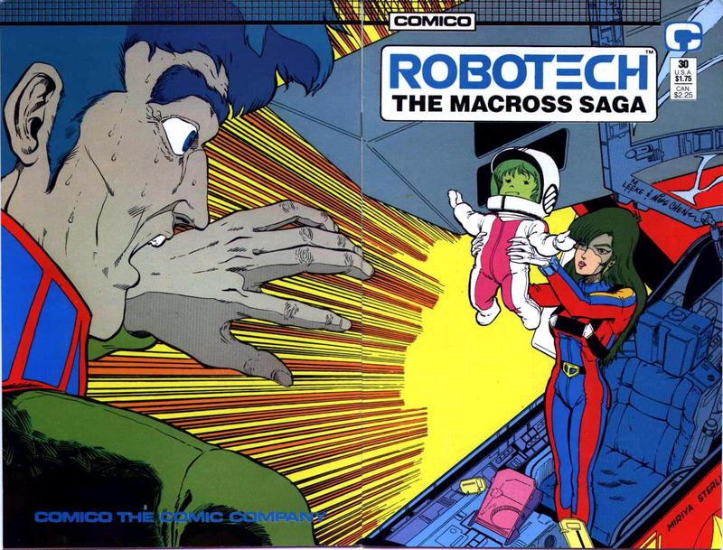 Cover for Robotech: The Macross Saga (Comico, 1985 series) #30