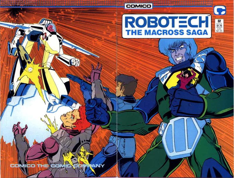 Cover for Robotech: The Macross Saga (Comico, 1985 series) #32