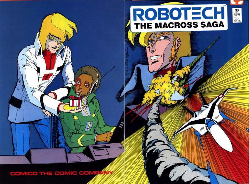 Cover for Robotech: The Macross Saga (Comico, 1985 series) #33