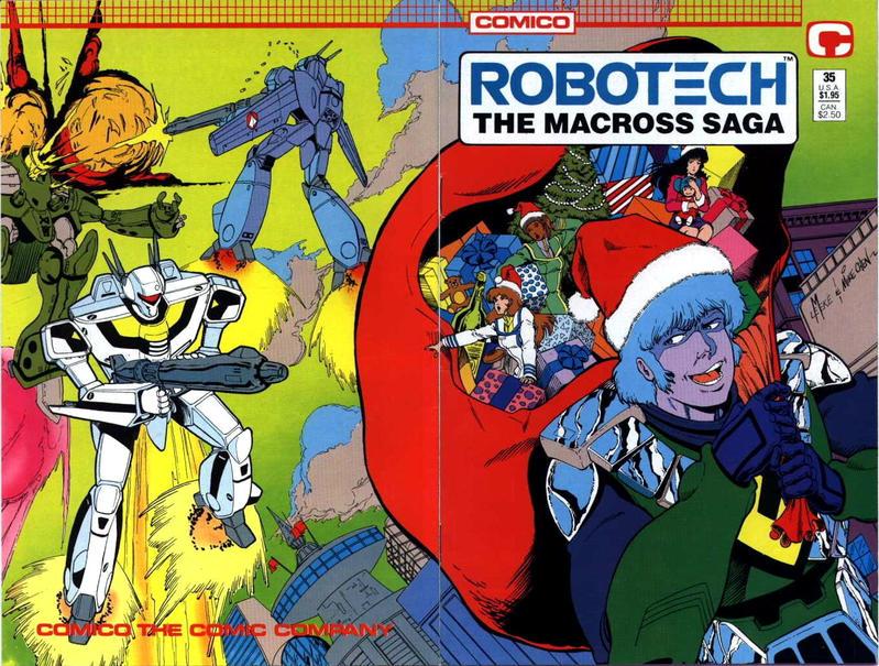 Cover for Robotech: The Macross Saga (Comico, 1985 series) #35