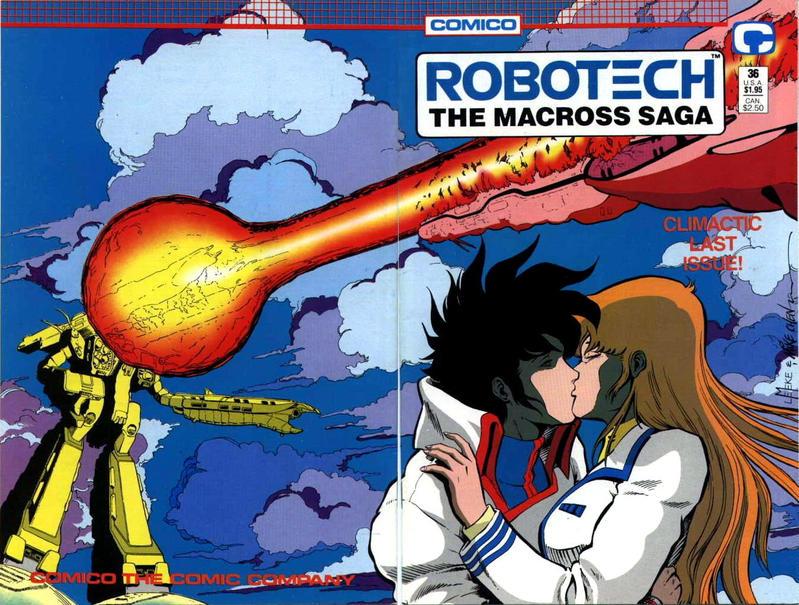 Cover for Robotech: The Macross Saga (Comico, 1985 series) #36
