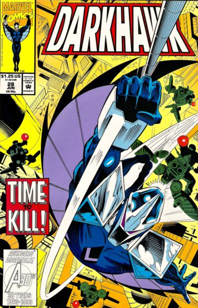 Cover for Darkhawk (Marvel, 1991 series) #28 [Newsstand]