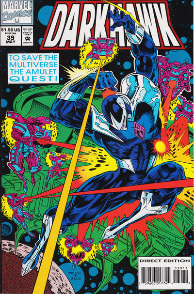 Cover for Darkhawk (Marvel, 1991 series) #39