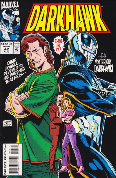 Cover for Darkhawk (Marvel, 1991 series) #42