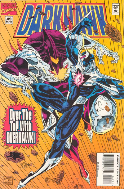 Cover for Darkhawk (Marvel, 1991 series) #49