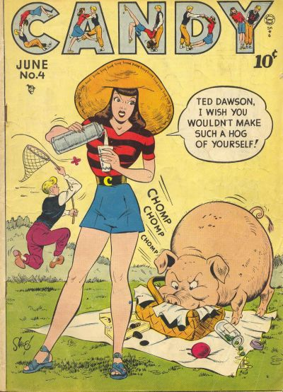 Cover for Candy (Quality Comics, 1947 series) #4