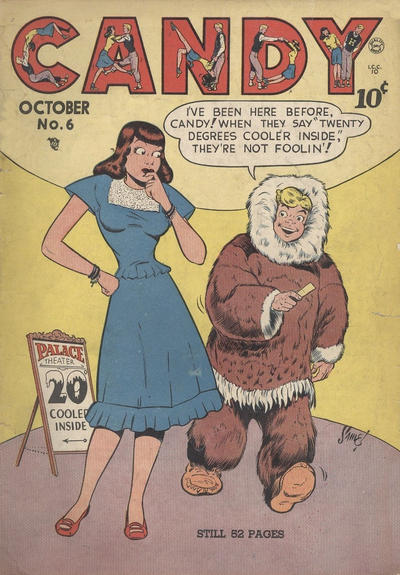 Cover for Candy (Quality Comics, 1947 series) #6