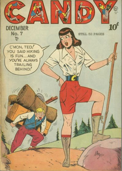 Cover for Candy (Quality Comics, 1947 series) #7