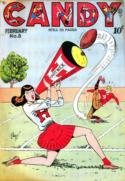 Cover for Candy (Quality Comics, 1947 series) #8