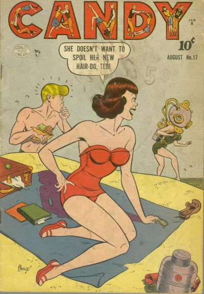 Cover for Candy (Quality Comics, 1947 series) #17