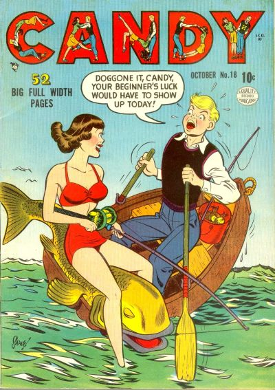 Cover for Candy (Quality Comics, 1947 series) #18