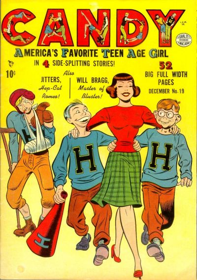 Cover for Candy (Quality Comics, 1947 series) #19