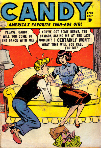 Cover for Candy (Quality Comics, 1947 series) #37