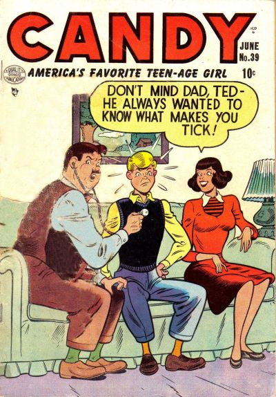Cover for Candy (Quality Comics, 1947 series) #39