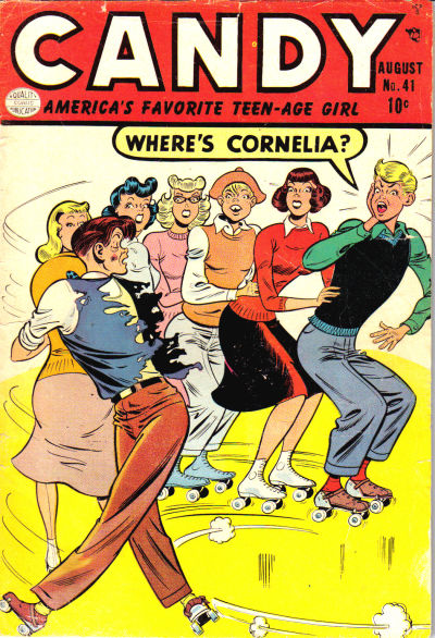 Cover for Candy (Quality Comics, 1947 series) #41