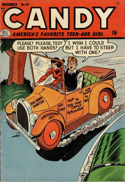 Cover for Candy (Quality Comics, 1947 series) #44