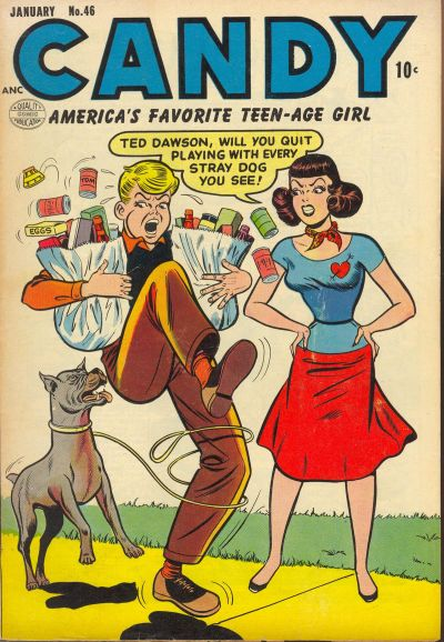 Cover for Candy (Quality Comics, 1947 series) #46
