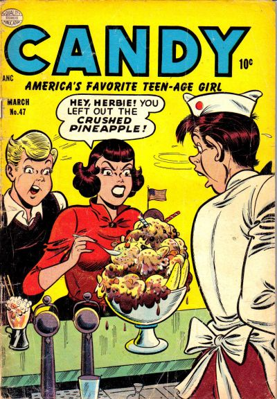 Cover for Candy (Quality Comics, 1947 series) #47