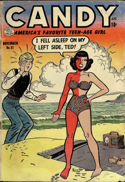 Cover for Candy (Quality Comics, 1947 series) #51