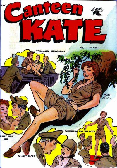 Cover for Canteen Kate (St. John, 1952 series) #1