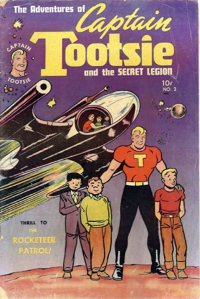 Cover for Captain Tootsie (Toby, 1950 series) #2
