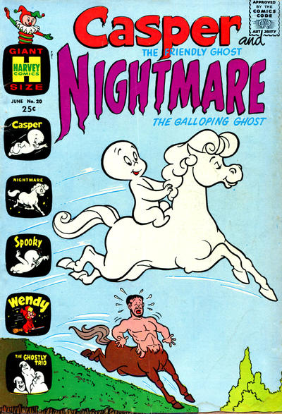 Cover for Casper & Nightmare (Harvey, 1964 series) #20