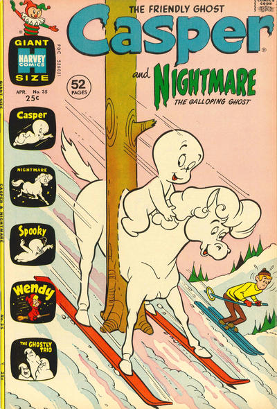 Cover for Casper & Nightmare (Harvey, 1964 series) #35