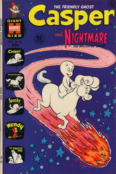 Cover for Casper & Nightmare (Harvey, 1964 series) #36